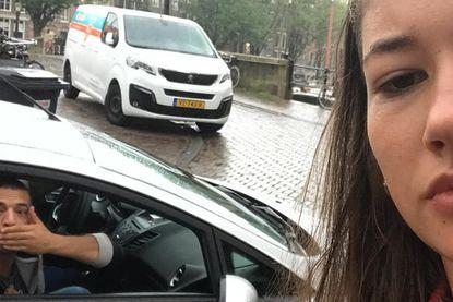 Noa zet mannen die haar naroepen te kijk op Instagram