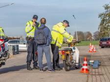 Scooterrijder van 15 opnieuw gepakt bij controle