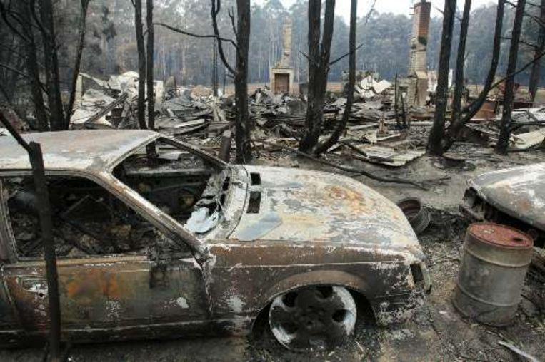 Narbethong werd zwaar getroffen door de bosbranden.