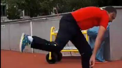 Kogelstoter Quentin Desclefs verovert zilver op EK para-atletiek