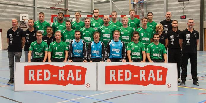 Handbalploeg Tachos uit Waalwijk