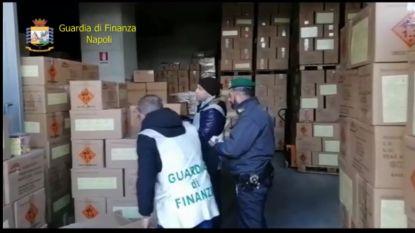 52 ton illegaal vuurwerk in beslag genomen in regio Napels