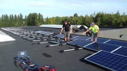 Industriezone pak groener dankzij zonnepanelen