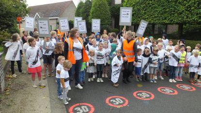 Kindjes van Zeveren willen veiligere Leeuwstraat