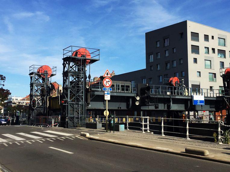 De Godshuizenbrug in Molenbeek.