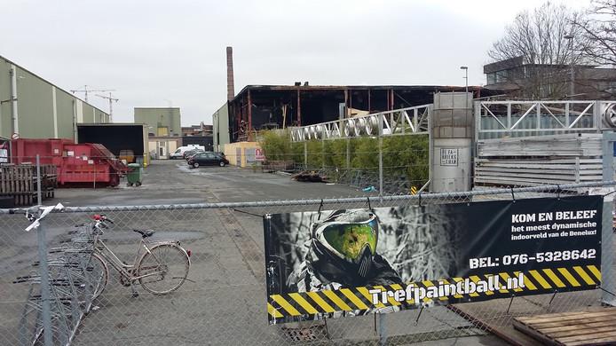 De Faam in Breda na de brand.