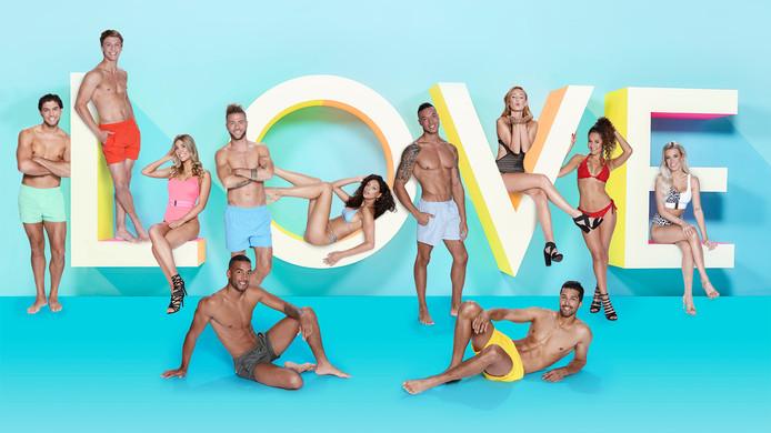 De kandidaten van Love Island.