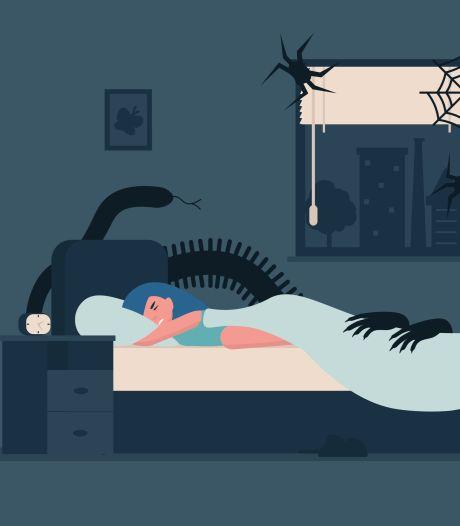 Zwetend en in paniek wakker worden: zo kom je van je nachtmerries af