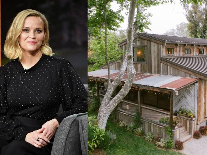 BINNENKIJKEN. Reese Witherspoon is haar brave imago beu en verkoopt haar boerderij voor 5,6 miljoen euro