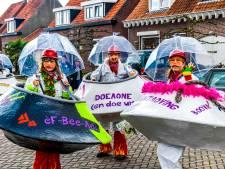 Stormklasse bij optocht Steenbergen op dinsdag