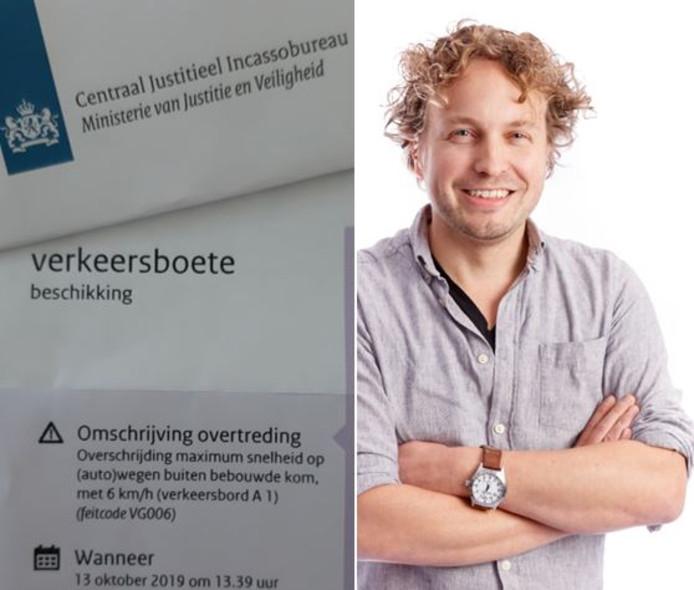 Van post van het CJIB wordt niemand blij, vermoedt columnist Niels Herijgens.