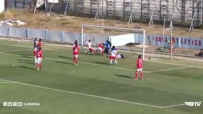 28-0! Vrouwenelftal Benfica zorgt voor ongeziene recordscore bij debuut in tweede afdeling