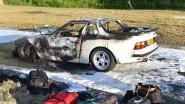 En toen vloog de Porsche in brand