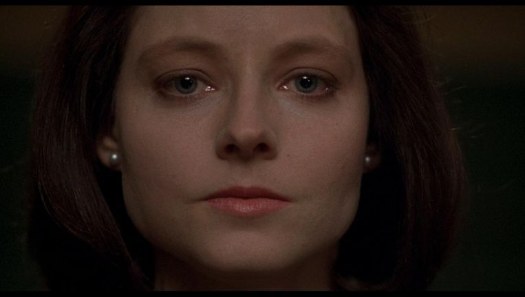 Jodie Foster in The Silence of the Lambs Beeld .
