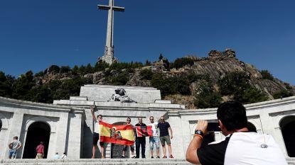 Stoffelijke resten Franco mogen weggehaald uit mausoleum