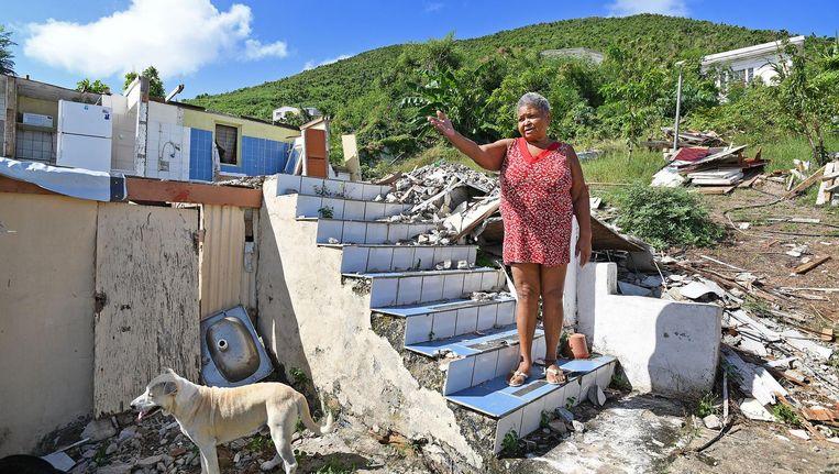 Al in november maakte het Nederlandse kabinet bekend dat het 550 miljoen euro beschikbaar stelde voor herstel van de orkaanschade op het zwaar getroffen Sint Maarten. Beeld Guus Dubbelman/de Volkskrant
