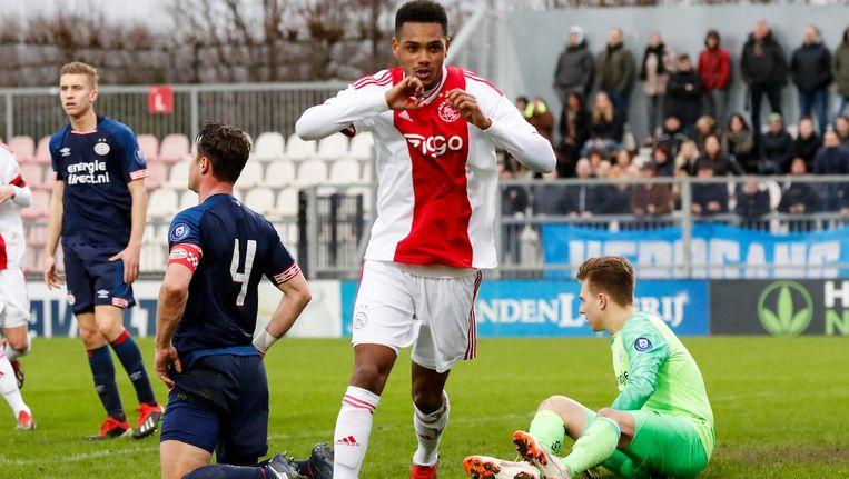 Jong Ajax en Jong PSV eindigen gelijk | Het Parool