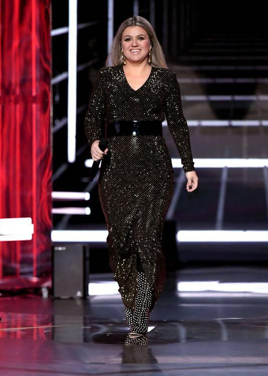 Kelly Clarkson bij de Billboard Music Awards in Las Vegas.