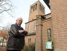 Wie steelt er nu een AED van een kerkgebouw?