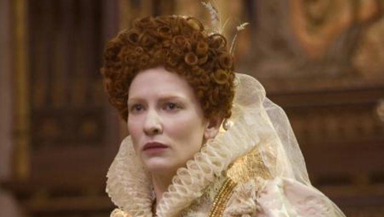 Cate Blanchett als Queen Elizabeth. Beeld