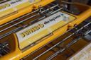 Een winkelwagen van supermarkt Jumbo.