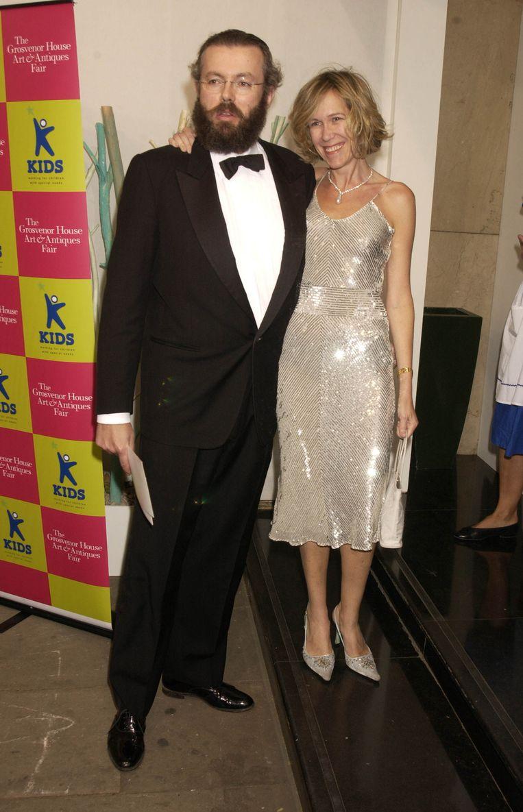 Eva en Hans Rausing. Beeld Getty Images