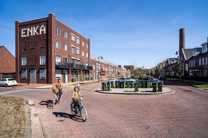 De wijk Enka in Ede.