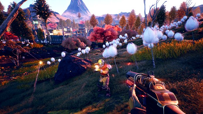Screenshot uit The Outer Worlds