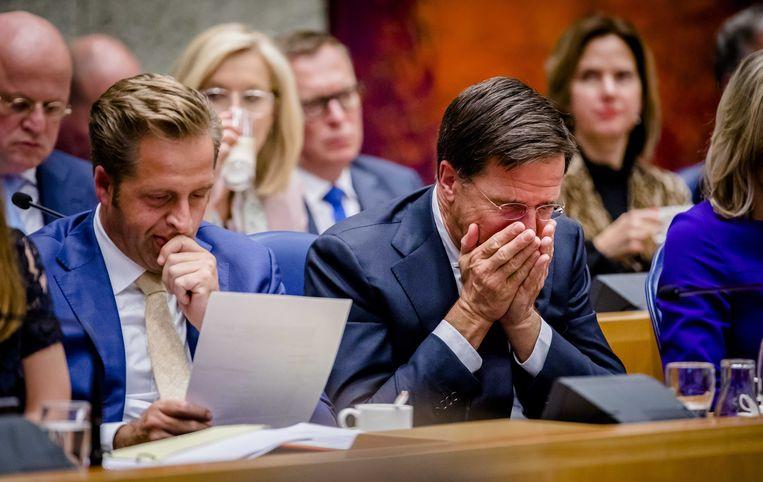 Het kabinet in vak K. Beeld anp