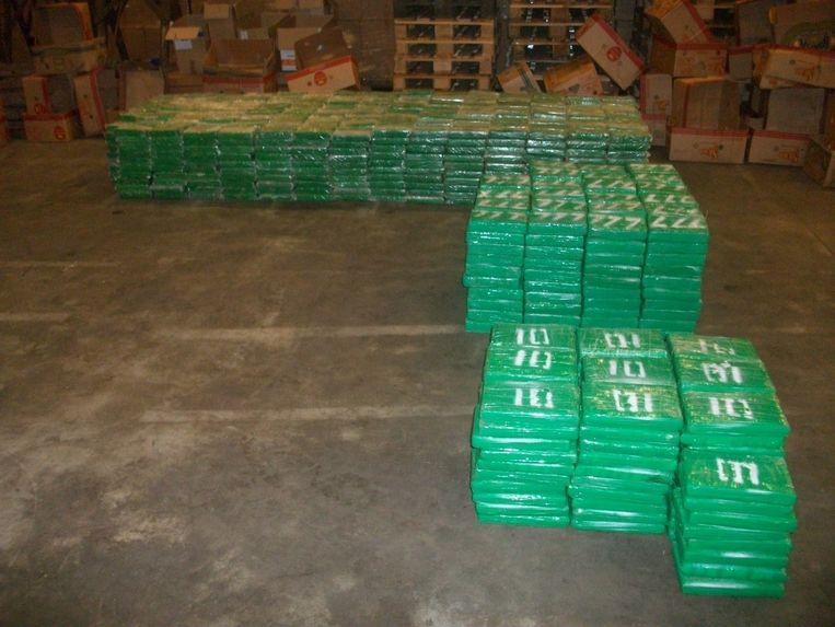 De douane onderschepte 1,7 ton cocaïne in september.