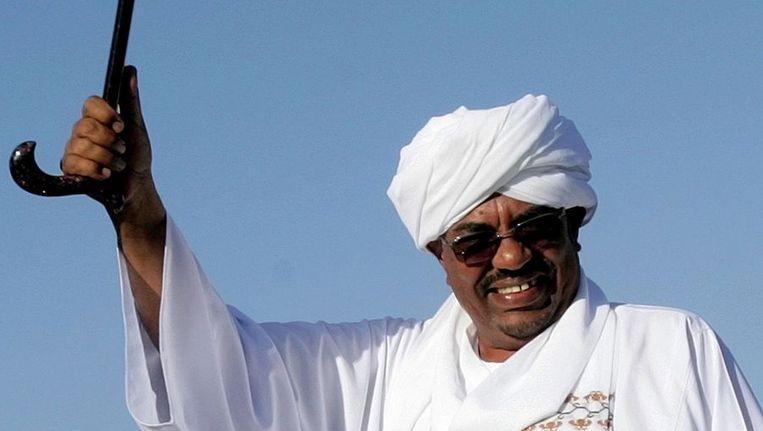 Omar al Bashir Beeld afp