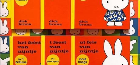 Nijntje boekje uitgebracht in zes streektalen. Maar nog niet in het Utregs