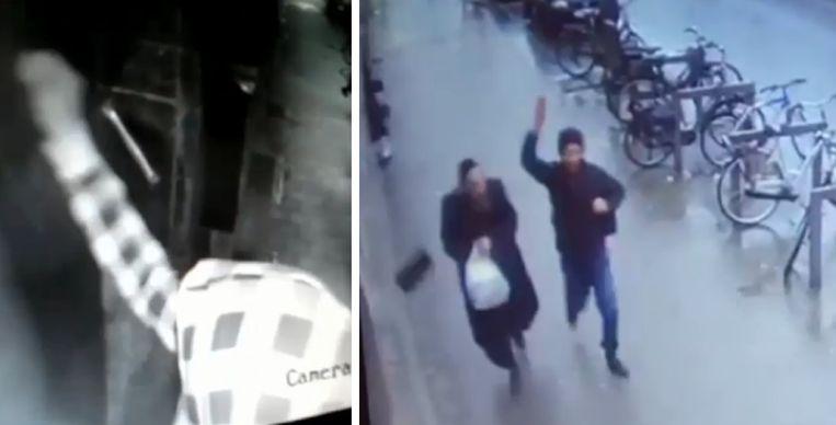De Joodse gemeenschap loopt op de tippen van de tenen nadat er al enkele weken een man hun wijk 'terroriseert'.