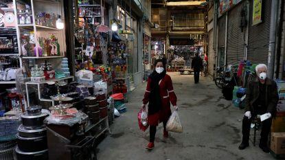 Iran 'uit rode zone' met 93 nieuwe sterfgevallen door coronavirus