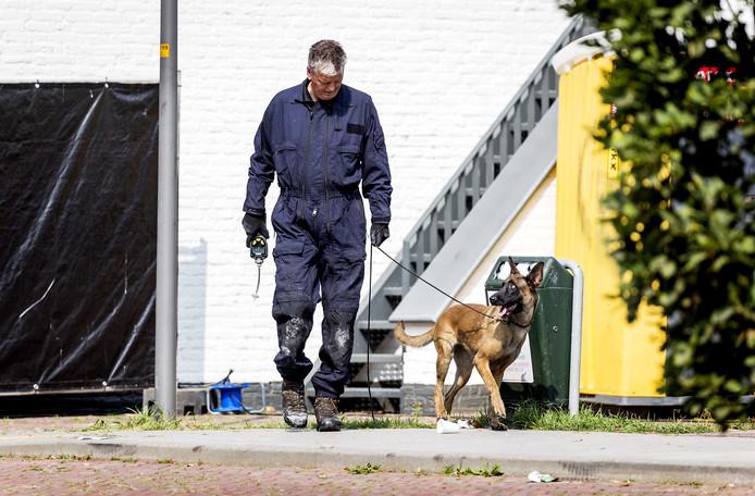 Onderzoek nadat een auto is ingereden op het gemeentehuis van Lingewaard in Bemmel.