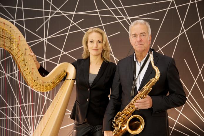 Inge Frimhout en Jos Beeren.