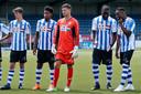 Van links naar rechts: Cas Faber, Collin Seedorf, Menno Bergsen, Stevy Okitokandjo en Elton Kabangu.