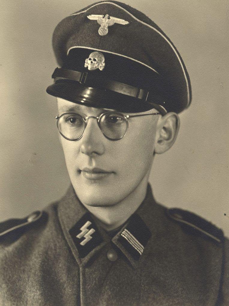 Oskar Gröning. Beeld