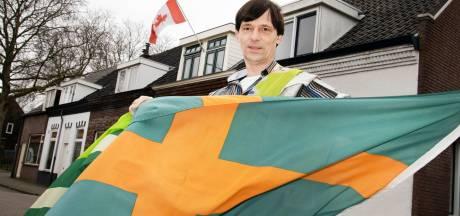 Paul laat altijd een vlag aan zijn huis wapperen: 'Het vrolijkt de straat op'