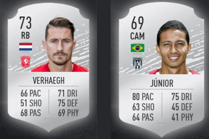 De beste spelers van FC Twente en Heracles
