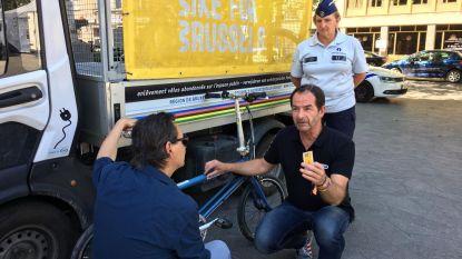 Stickers brachten 11.000 Brusselse fietsen weer naar hun eigenaar