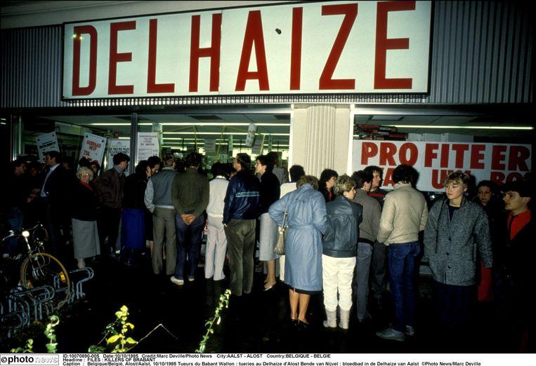 De Bende van Nijvel richtte op tien oktober 1985 een bloedbad aan in de Delhaize van Aalst.