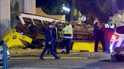 Tram in Lissabon boort zich in gebouw: 28 gewonden, baby door omstanders gered uit wrak