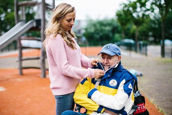 De als vermist opgegeven Leo de Ron (67) zat ruim 26 uur vast in het invalidentoilet van verpleeghuis Nieuw Berkendael.