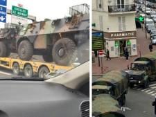 Ces blindés de l'armée vus en France n'ont rien à voir avec le confinement