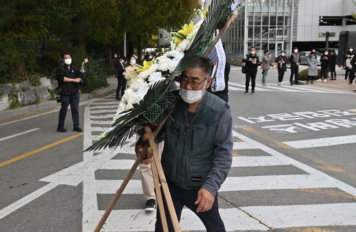 Zuid-Korea rouwt om het overlijden van Lee Kun-Hee (78).