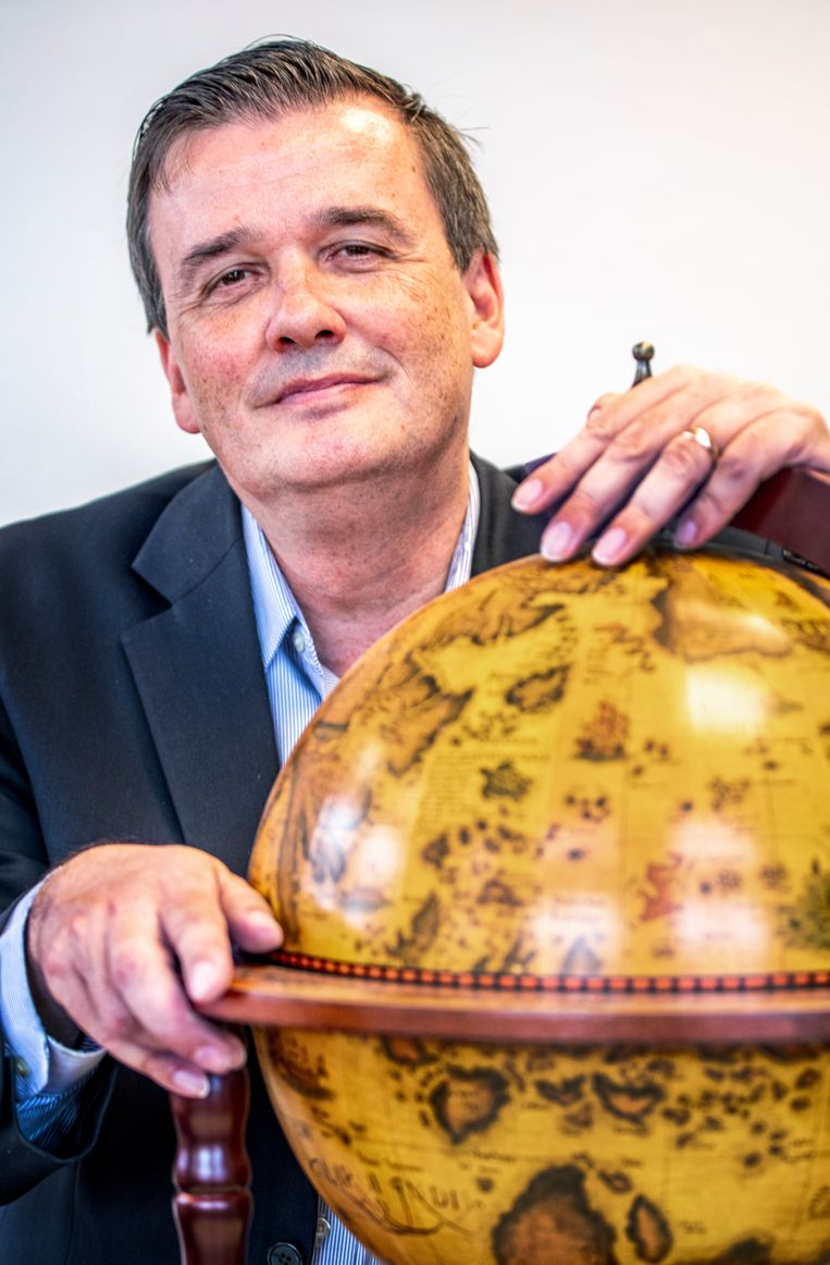 Prof. James Kennedy. Beeld Raymond Rutting / de Volkskrant