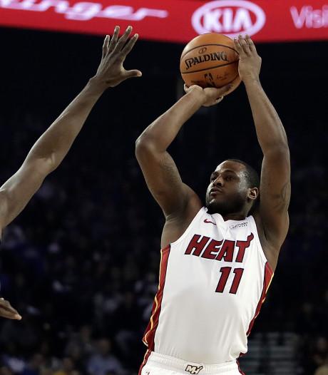Warriors ontsnappen tegen Miami Heat