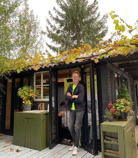 DDW-baas beleeft design-evenement noodgedwongen vanuit zijn tuinhuis