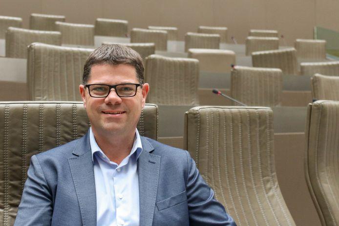 Vlaams parlementslid Tom Ongena (Open Vld).